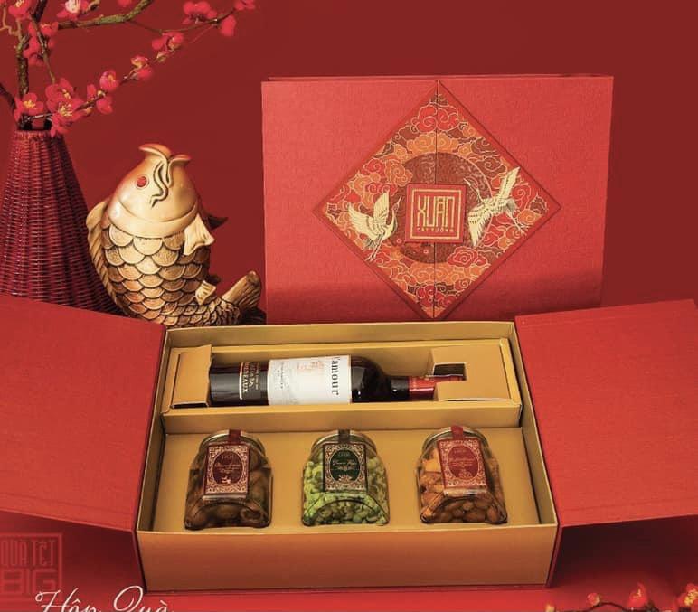 mẫu hộp quà tết 21