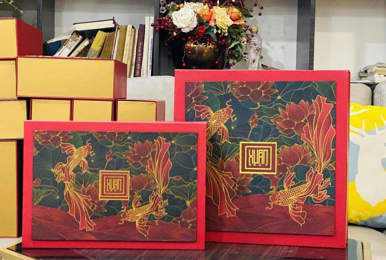 mẫu hộp quà tết 6
